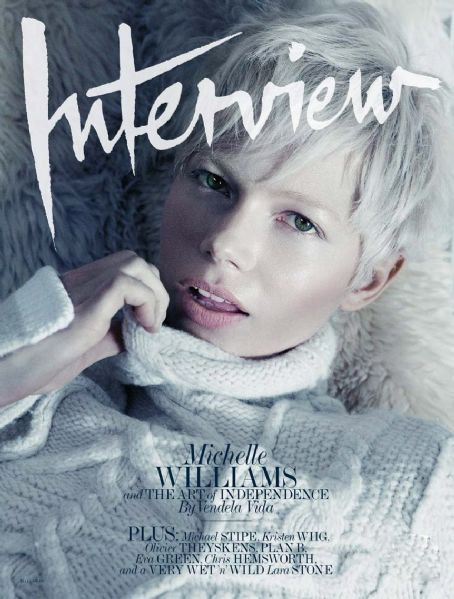 Michelle Williams - Interview Magazine Cover [United States] (May 2011)