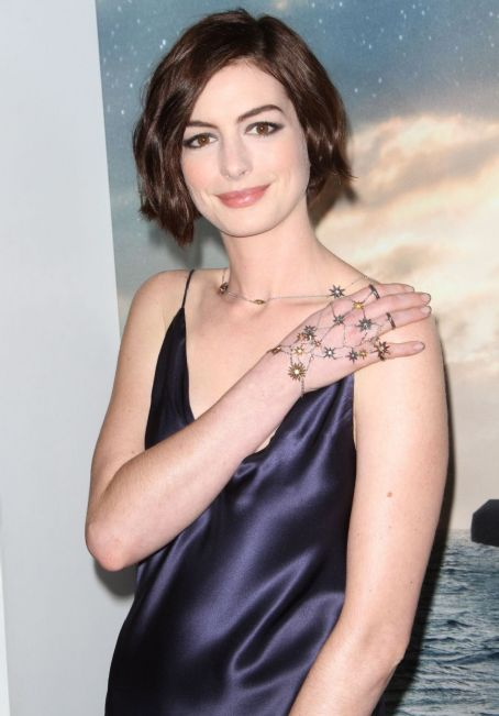 Anne Hathaway is trying to make her husband's jewelry designs happen