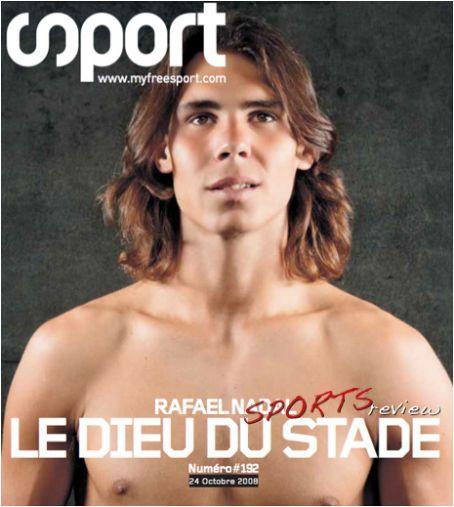Rafael Nadal - Sport Magazine [France] (24 October 2008)