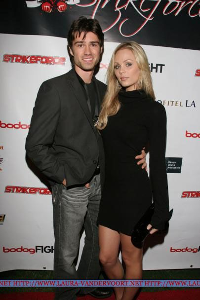 Laura Vandervoort Corey Sevier and