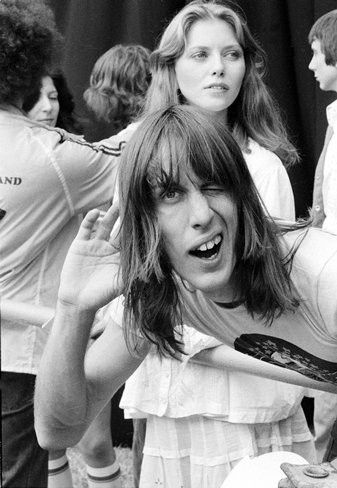 Bebe Buell and Todd Rundgren , Knewborth 1976