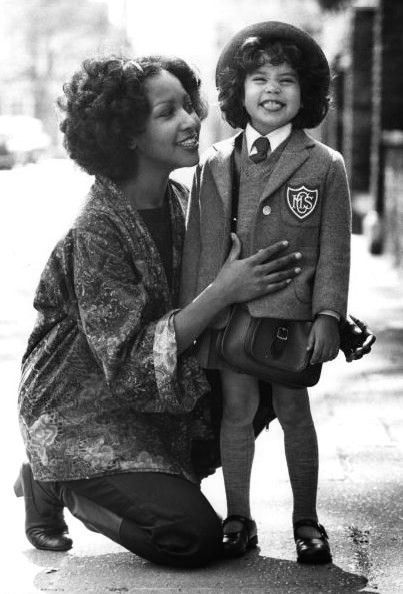 Karis Jagger Hunt Marsha Hunt and Karis Jagger