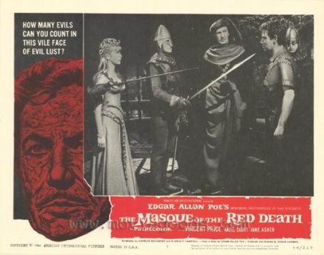 Vincent Price The Masque of the Red Death (1964)