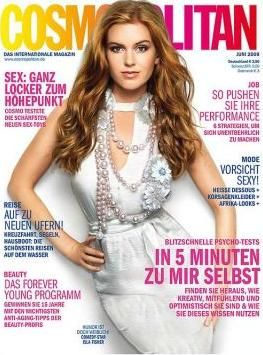 Isla Fisher - Cosmopolitan Magazine [Germany] (June 2009)