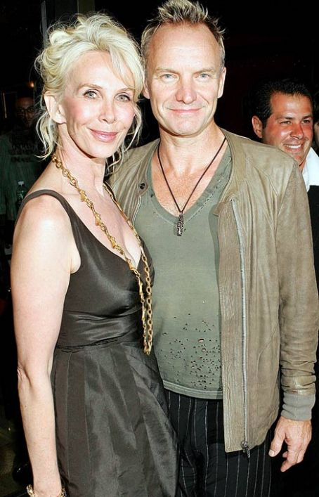 Trudie Styler Sting and