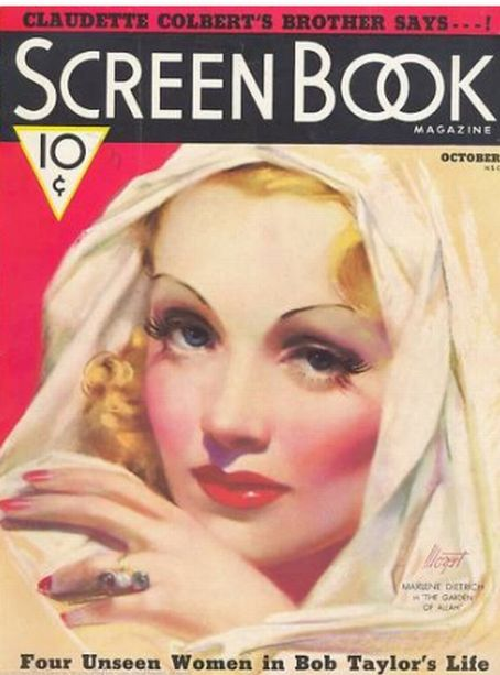 Marlene Dietrich - Screen Book Magazine [United States] (October 1936)