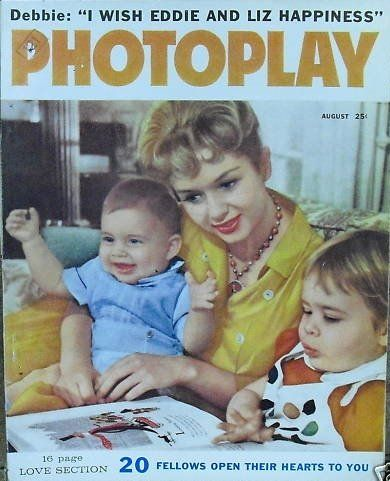Debbie Reynolds - Photoplay Magazine [United States] (August 1959)