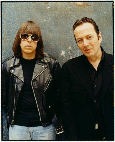 Johnny Ramone Joe Strummer and