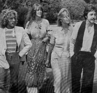 Roger Daltrey Roger, Heather, Linda and Paul McCartney