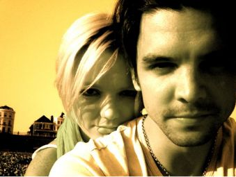 Andrew Lee Potts Hannah Spearritt and Andrew Lee potts