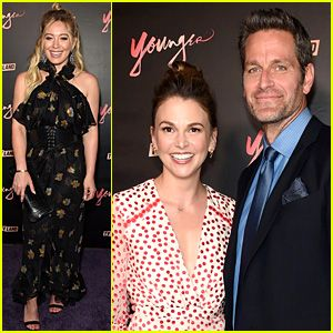 Hilary Duff, Sutton Foster, & 'Younger' Cast Wrap Press Day with Season 4 Premiere Party!