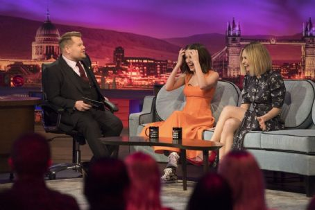 Lily James and Millie Bobby Brown - The Late Late Show with James Corden (June 2019)
