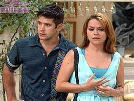 Murilo Benício Murilo Benicio and Vivianne Pasmanter in Por Amor (1997)