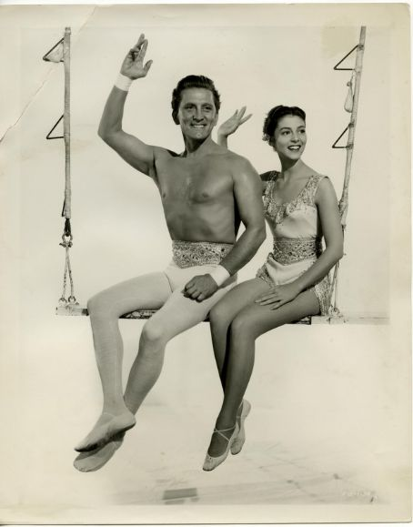 Kirk Douglas  and Pier Angeli