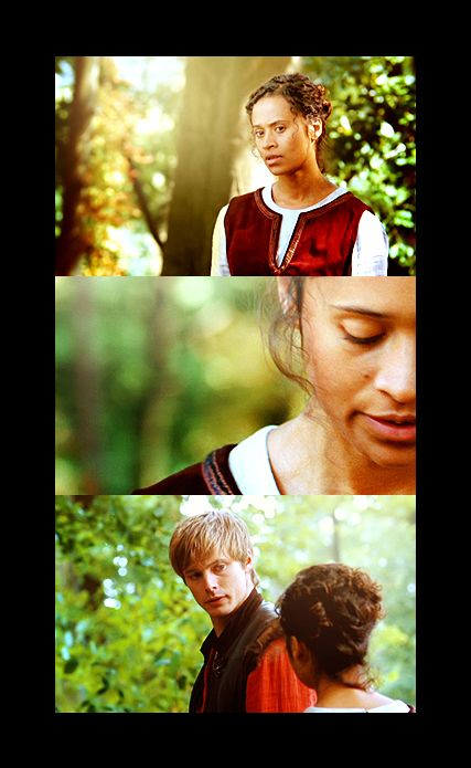 Angel Coulby and Bradley James faith in you.