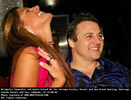 Bridgetta Tomarchio  and Gavin Maloof