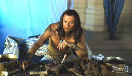 Luke Goss  as King Xerxes in