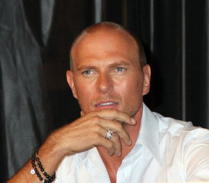 Luke Goss  at NYC Comic Con, April, 2008