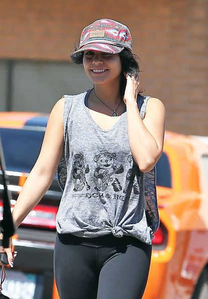 Vanessa Hudgens leaving a restaurant with a friend in Studio City, CA on September 17th, 2012