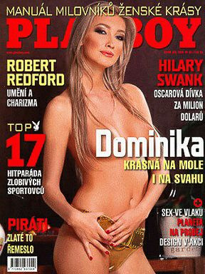 Dominika Mesarosová - Playboy Magazine Cover [Czech Republic] (February 2008)