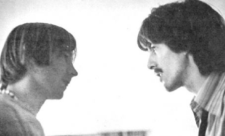 Peter Tork 1968 - Peter and George Harrison
