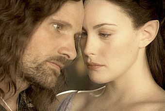 The Lord of the Rings: The Fellowship of the Ring Liv Tyler And Viggo Mortensen In The Lord Of The Rings
