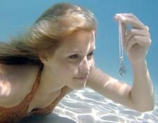 Claire Holt Emma in water