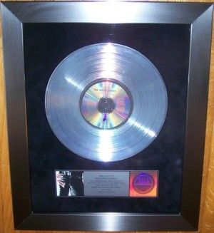 ROLLING STONES TRIPLE PLATINUM AWARD SELLS FOR $1, 300 ON EBAY