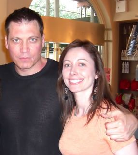 Holt McCallany  and girlfriend Nicole