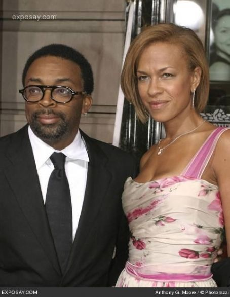 Spike Lee  and Tanya Lynette Lewis