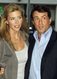 Sylvester Stallone Jennifer Flavin and