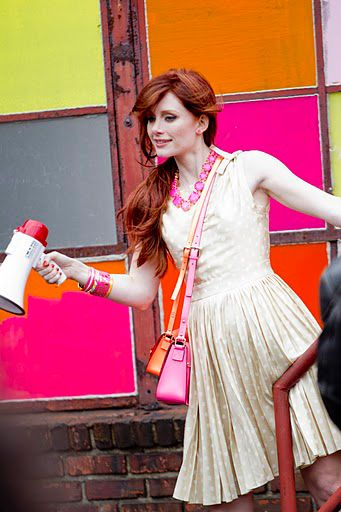 InStyle Magazine's Behind The Scenes With Bryce Dallas Howard For Kate Spade