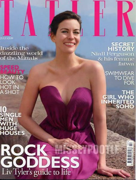 Liv Tyler - Tatler Magazine [United Kingdom] (July 2010)