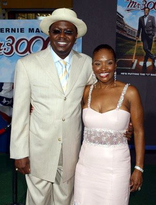 Bernie Mac  and Rhonda Mac