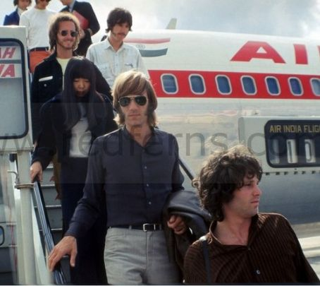 Dorothy Manzarek Ray Manzarek and Dorothy Fujikawa with The Doors