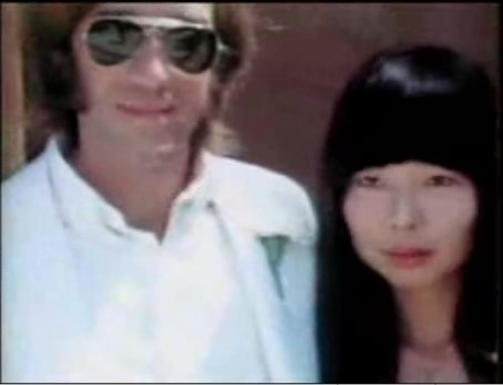 Ray Manzarek  and Dorothy Fujikawa at their wedding