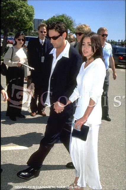 Rob Weiss and Shannen Doherty - Independent Spirit Awards, March 25th 1995