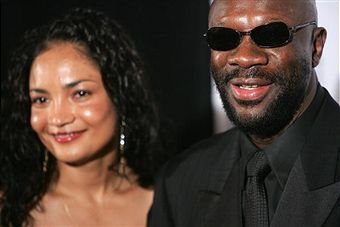 Isaac Hayes  and Adjowa Hayes