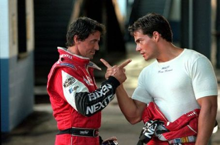 Driven Sylvester Stallone and Cristian De La Fuente in Warner Brothers'  - 2001
