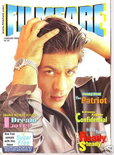 Shahrukh Khan - Filmfare Magazine [India] (February 2002)