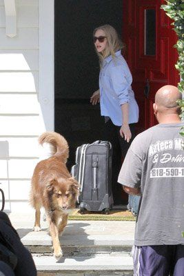 Amanda Seyfried leaving her Hollywood home (July 31)