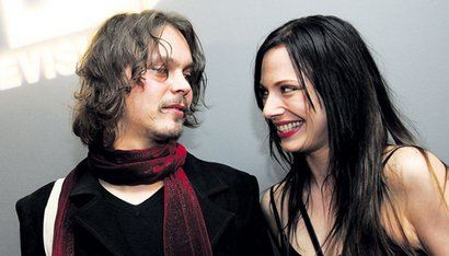Ville Valo and Jonna Nygren