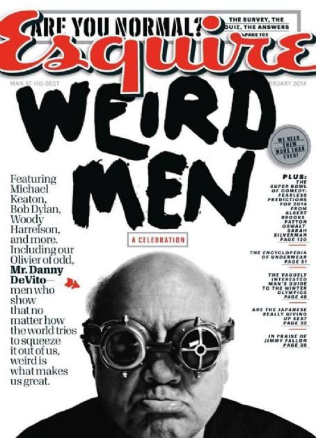 Danny DeVito - Esquire Magazine Cover [United States] (February 2014)