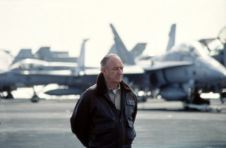 Behind Enemy Lines Gene Hackman as Admiral Reigart in 20th Century Fox's  - 2001