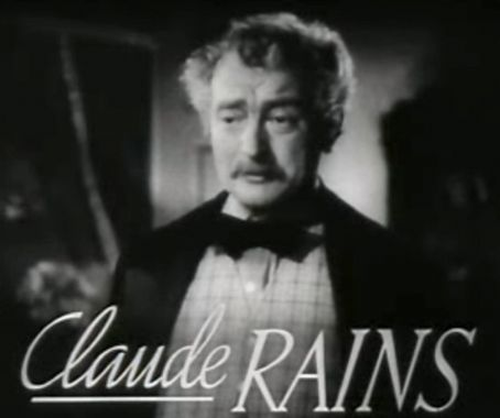 Claude Rains Four Daughters (1938)