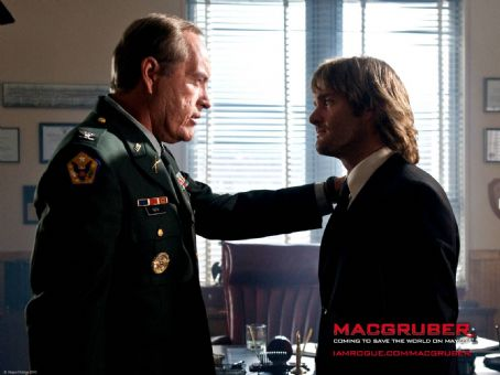 Powers Boothe MacGruber Wallpaper