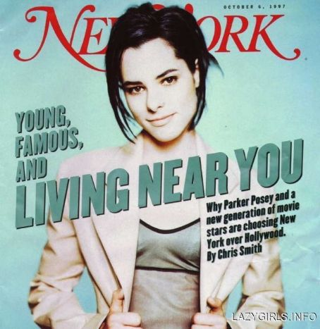 Parker Posey - New York Magazine Cover [United States] (6 October 1997)