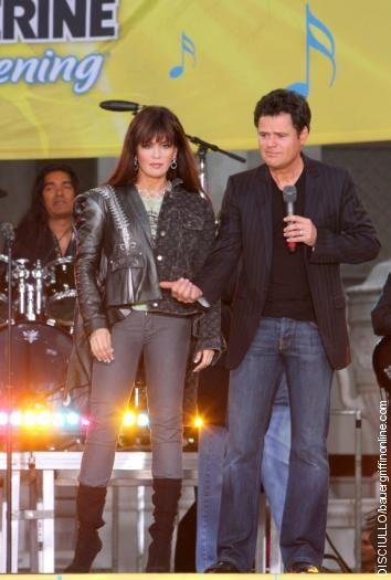 Marie Osmond  & Donny Osmond