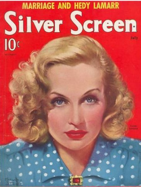 Carole Lombard - Silver Screen Magazine [United States] (July 1939)