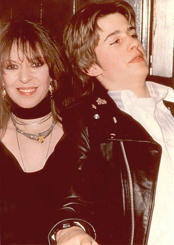 Jason Starkey  and mum Maureen, Hard Rock Cafe Opening 1984